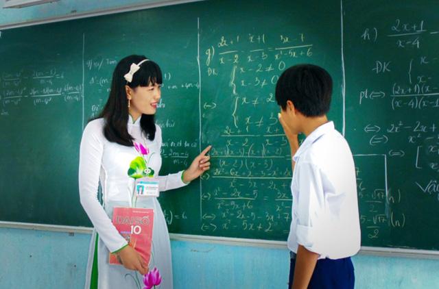 cô giáo 1 - Cảm nghĩ về thầy cô giáo của em