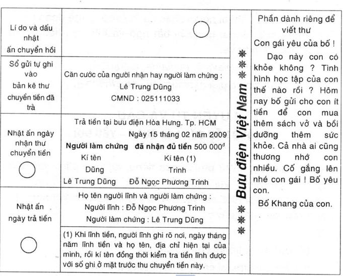unnamed file 52 - Soạn văn bài Tập làm văn: Điền vào giấy tờ in sẵn