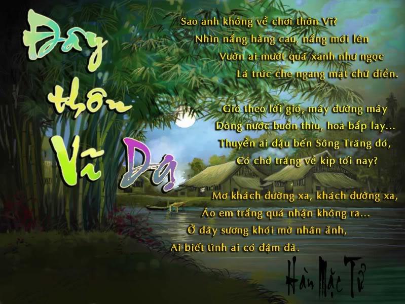 phan tich bai tho day thon vi da - Phân tích bài thơ Đây Thôn Vĩ Dạ