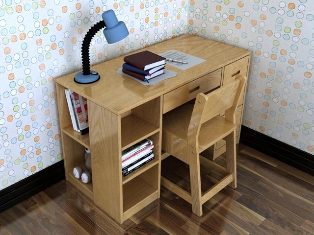 Tả cái bàn học ở nhà của em